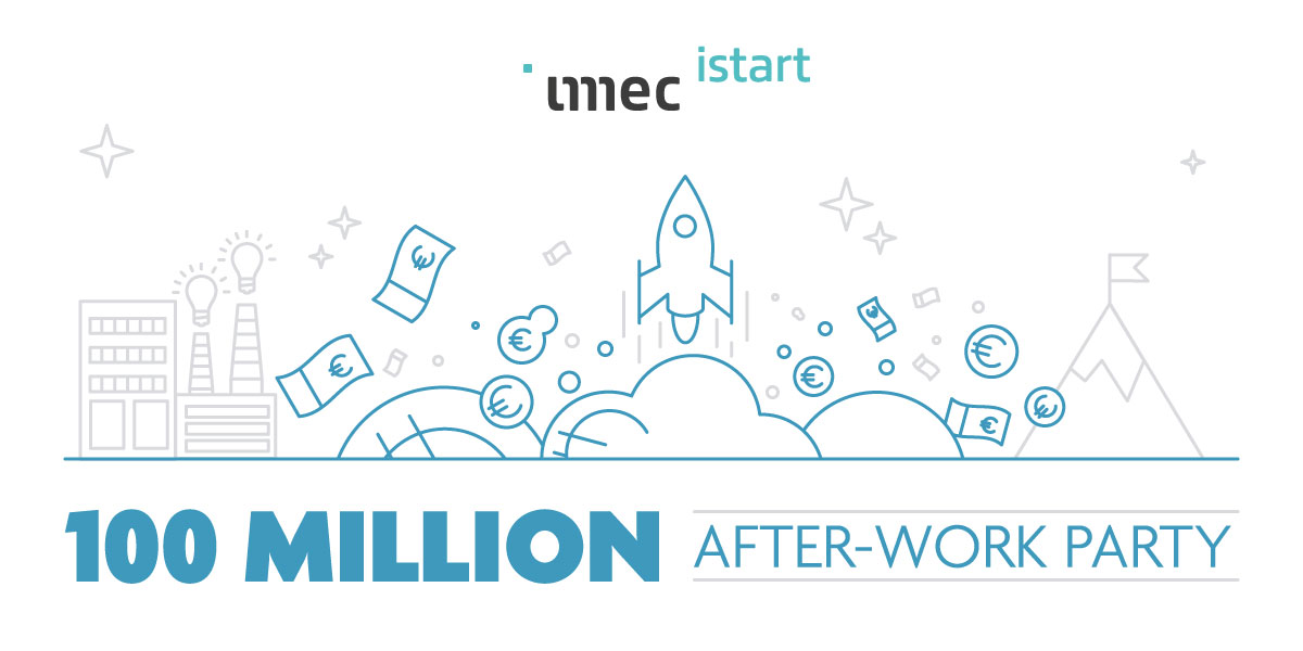 100 million after-work party