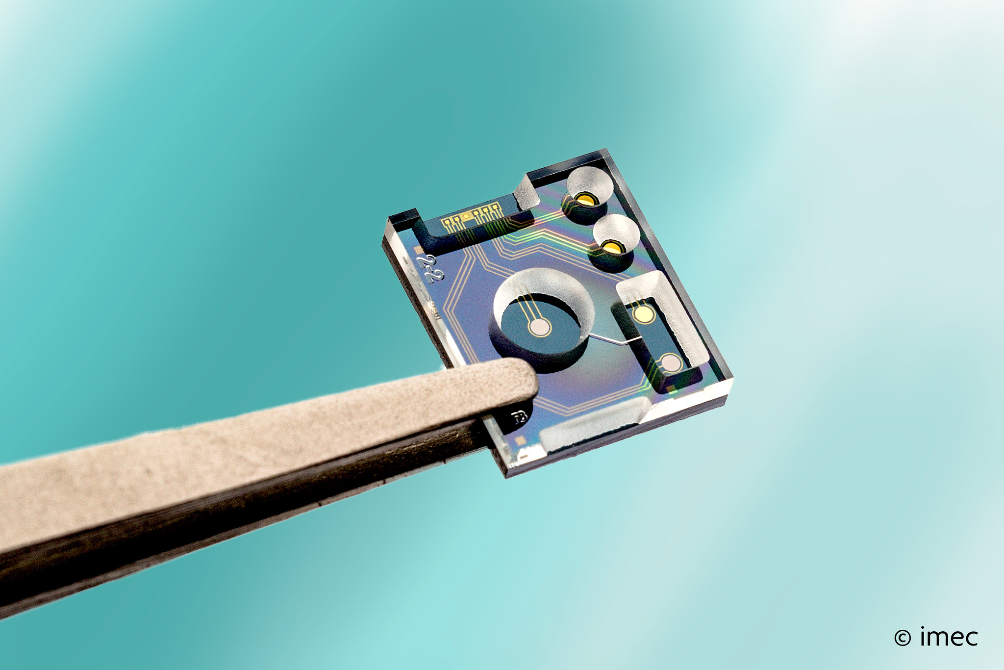 on-chip fluid sensor