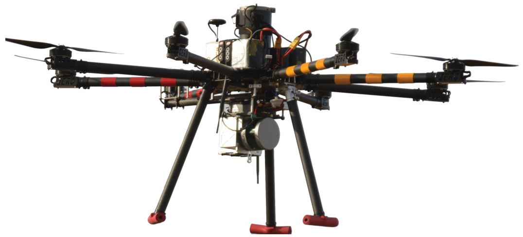 Integrating the LiBorg system on a drone (picture) broadens the range of applications
