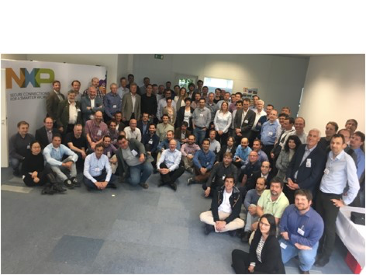 Picture of the SECREDAS Kick-off Meeting at NXP Semiconductors, Munich, Germany