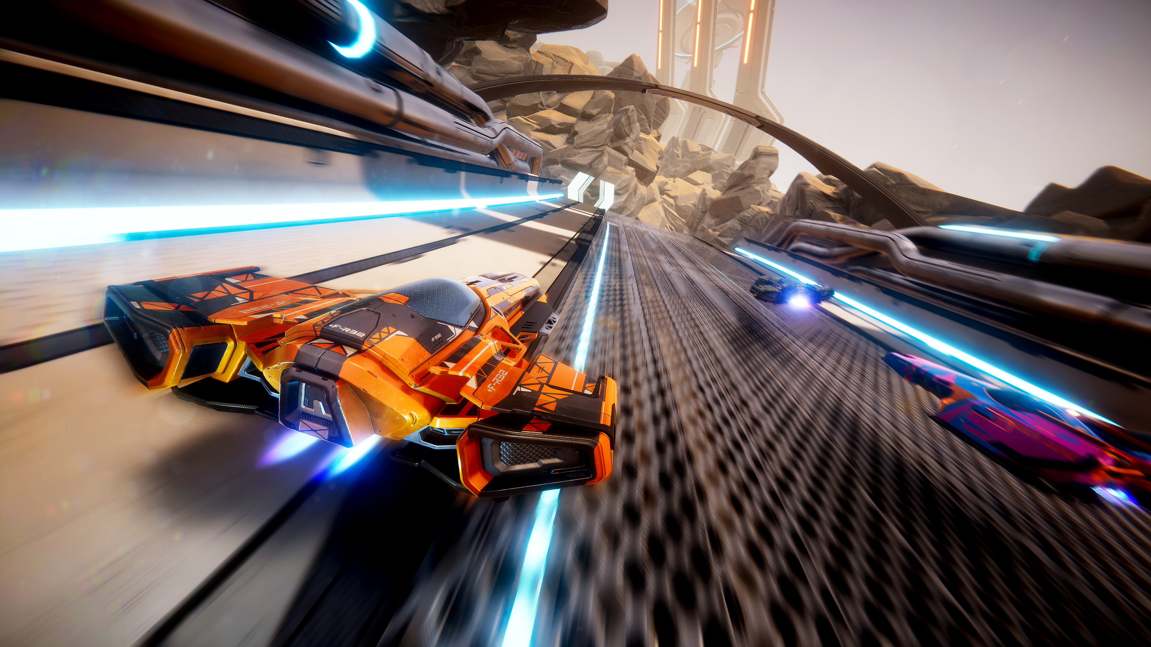 Antigraviator, a futuristic race game, is the first game from start-up Cybernetic Walrus