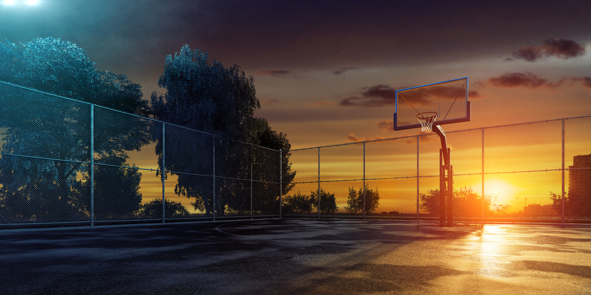 What if smart street lighting would only work if the city's basketball court was actually used? It is one of the energy-efficient applications of smart lighting.
