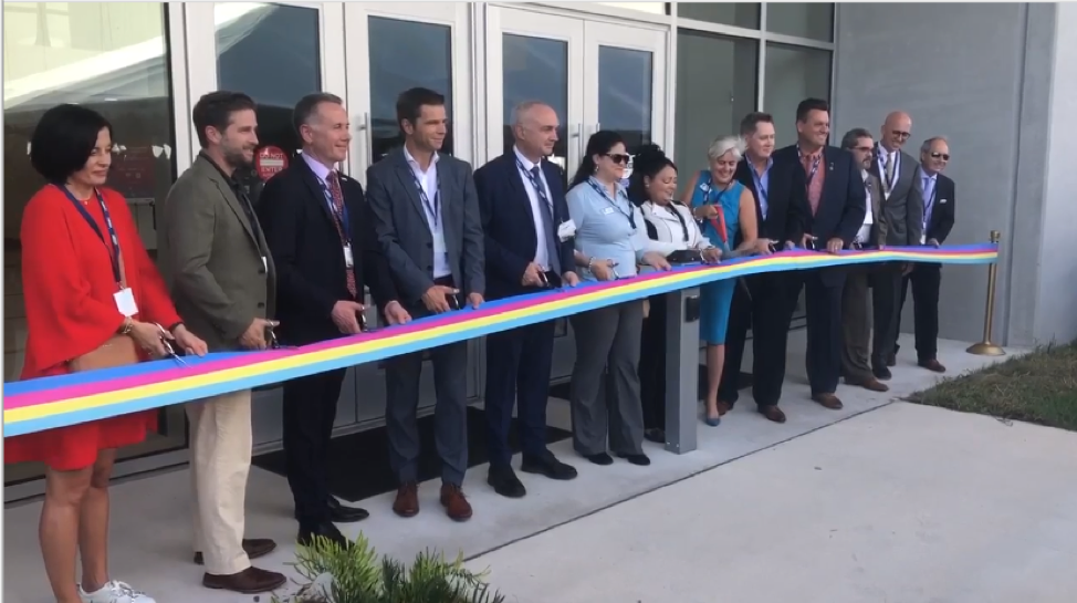 Opening ceremony of mec Florida's new office in NeoCity, a unique innovation park in Osceola County, Florida.