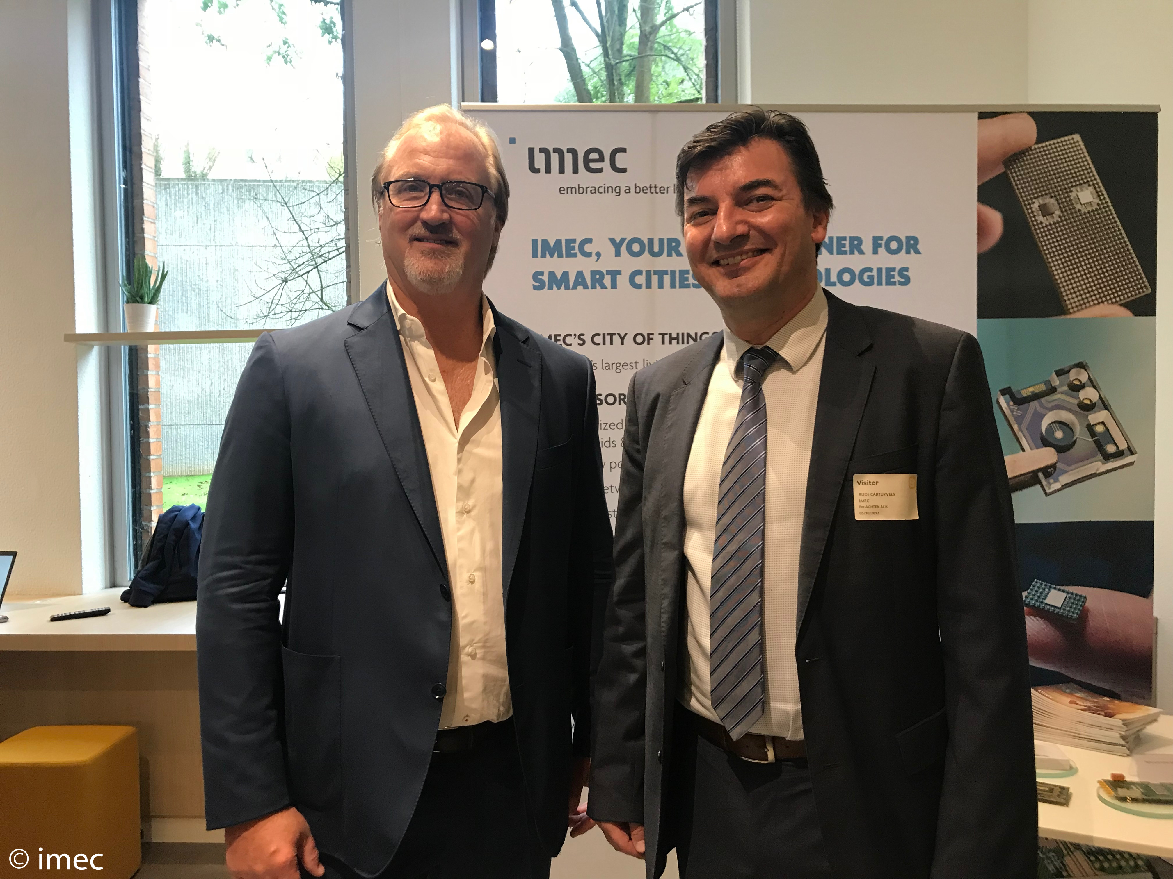 Telenet en imec gaan samenwerken rond Internet of Things en Smart Cities