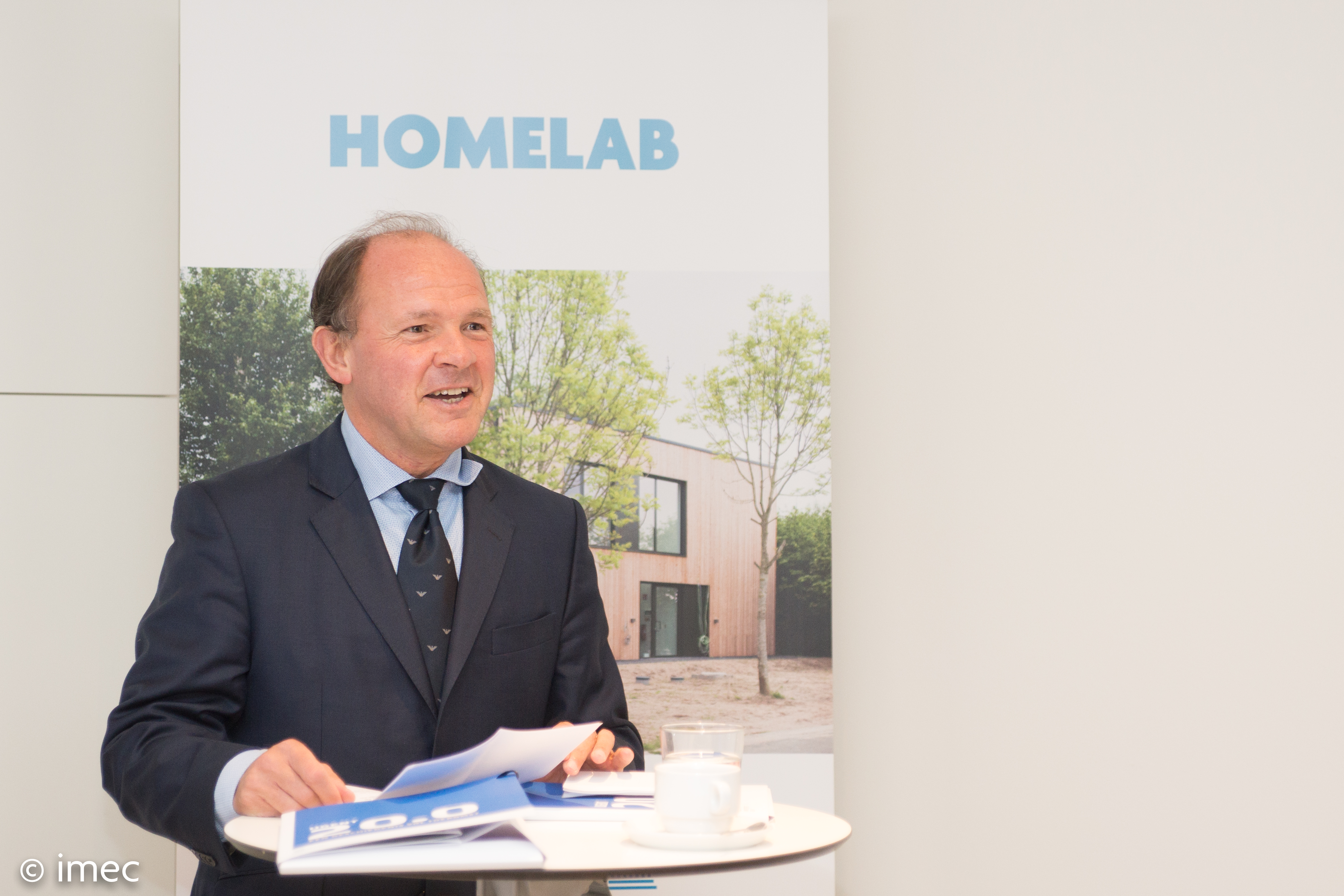 Opening HomeLab - ​​​​Vlaams minister Philippe Muyters