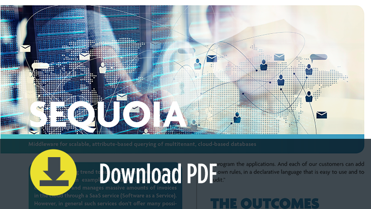 SEQUOIA Leaflet - Download